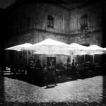 Sevilla plaza--cortado anyone?