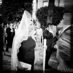 in the procession
