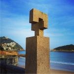 """Tribute to Fleming"" By Eduardo Chillida"